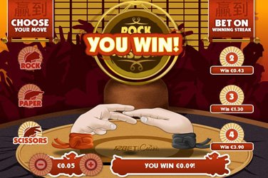 Rock paper scissors Arcade Casino Spiel