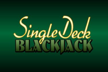 Single deck blackjack mobile Handy Spielautomat