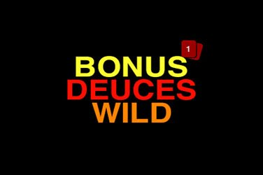 Bonus deuces wild Video Poker