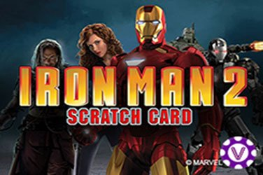 Iron man 2 scratch Rubbelkarten Spiel