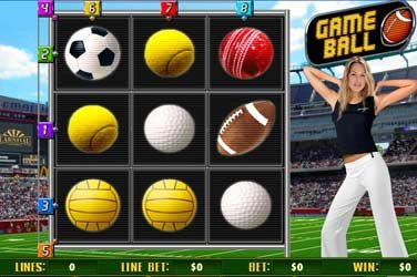 Game ball Automatenspiel
