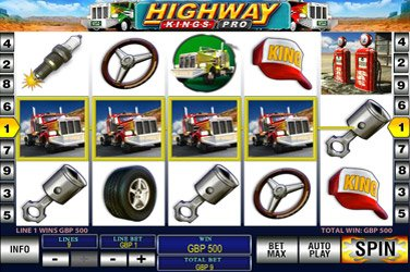 Highway kings pro Videospielautomat