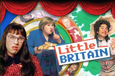 Little britain Slotmaschine