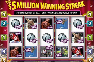 The 5 million winning streak Videoslot