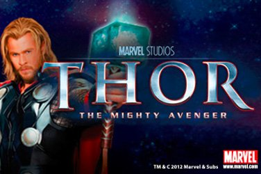 Thor the mighty avenger Slotmaschine