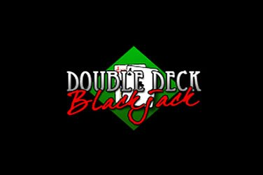 Double deck blackjack Tischspiel