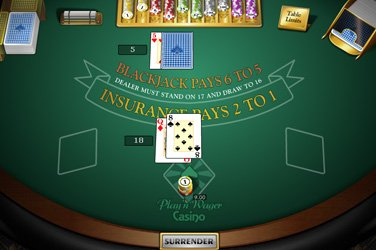 Single deck blackjack mh Tischspiel