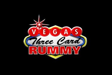Vegas three card rummy Tischspiel