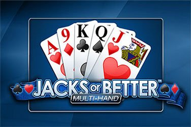 Jacks or better multihand Video Poker