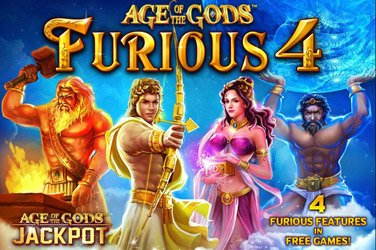 Age of the gods: furious four Spielautomat