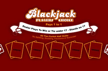 Blackjack players choice Slotmaschine