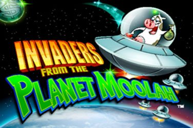 Invaders from the planet moolah Slotmaschine