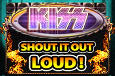 Kiss shout it out loud Automatenspiel