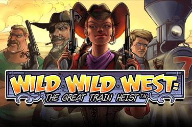 Wild wild west: the great train heist Videospielautomat