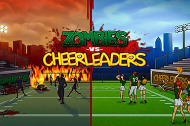 Zombies versus cheerleaders Videospielautomat